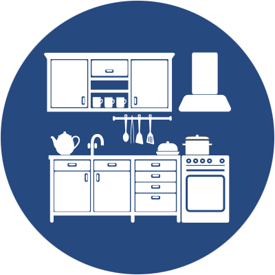 Kitchen Remodel Icon